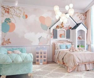 child, cute, and bedroom image