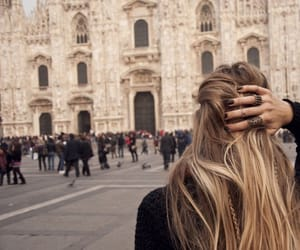 blonde, boho, and italy image