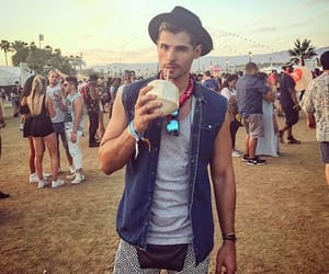 coachella, outfit, and men image