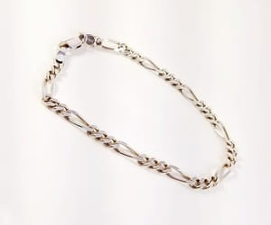 etsy, chain bracelet, and sterlingbracelet image
