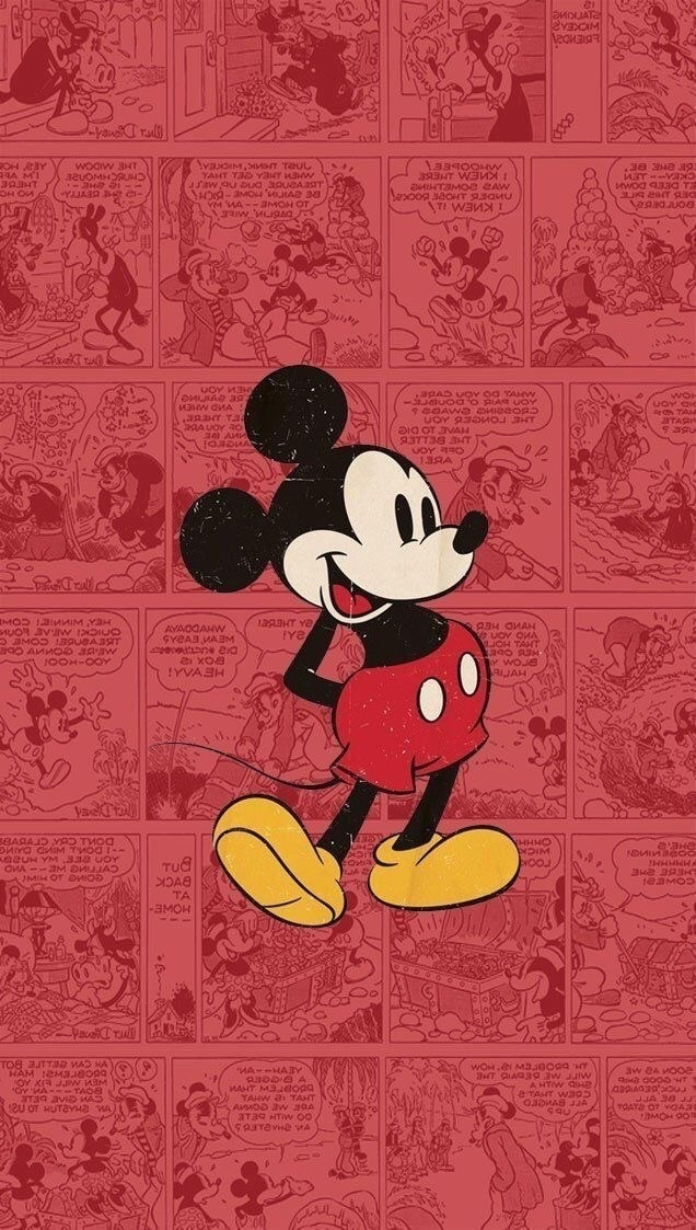 Mickey Retro Discovered By Samespino05 On We Heart It