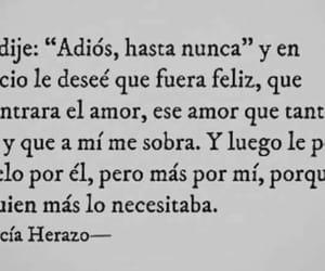 adios, amor, and feliz image