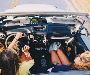 bff, car, and convertible image