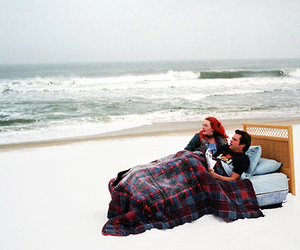 eternal sunshine of the spotless mind, jim carrey, and sea image