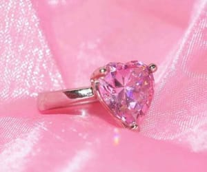 aesthetic, pink, and ring image