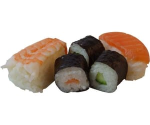 overlay, png, and sushi image