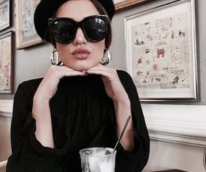 fashion, girl, and drink image