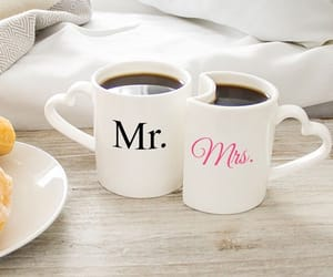 coffee, just married, and mr image