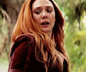 gif, Marvel, and scarlet witch image