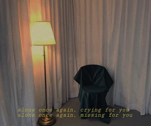 alone, dark, and quote image