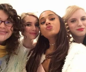 ariana grande, scream queens, and emma roberts image