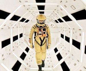 astronaut, futuristic, and spaceship image