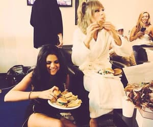 selena gomez, Taylor Swift, and food image