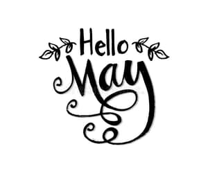 hello, may, and months image