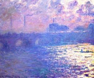 art, bridge, and painting image