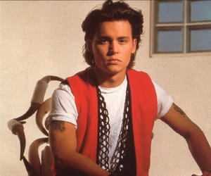 80s, depp, and johnny image