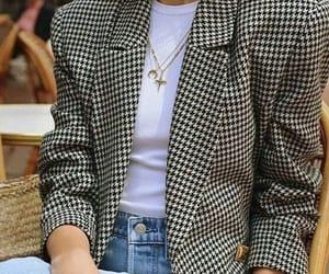 fashion, blazer, and chic image
