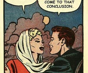 comics, girl, and love image