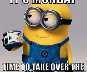 determined, minions, and monday motivation image