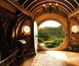 the hobbit, hobbit, and house image