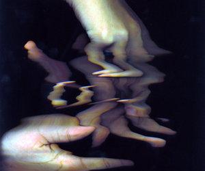 digital art, glitch, and water image