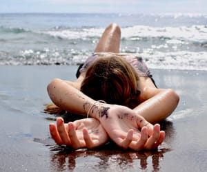 relaxation, sand, and shoot image