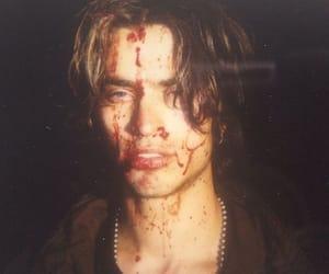blood, boy, and grunge image