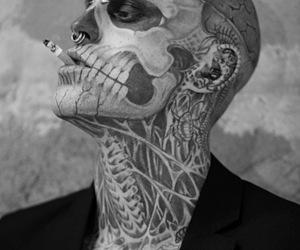 tattoo, smoke, and boy image