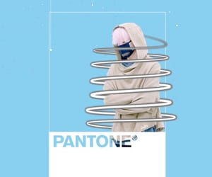 blue, kpop, and pastel image