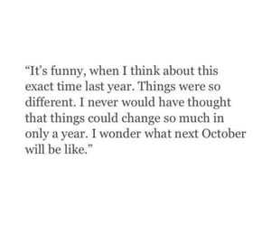 change, quotes, and october image