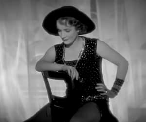 gif, Marlene Dietrich, and vintage image
