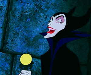 disney, evil, and maleficent image