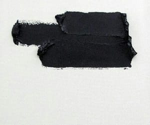 black, art, and paint image