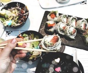food, japanese, and like image