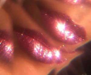 lips, pink, and retro image