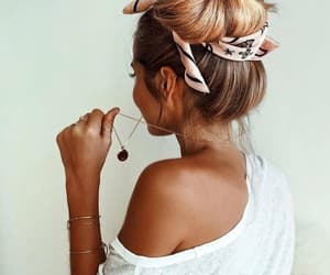 girl, hair, and fashion image