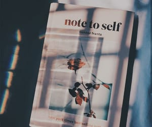 book, note to self, and connor franta image