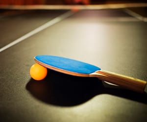 aesthetic, ping pong, and table image