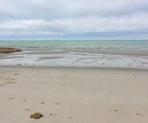 beach, sunburnt photography, and sand image