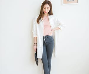asian, basic, and clothes image