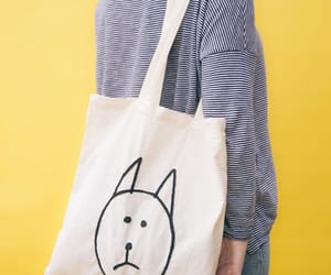 bag, fashion, and cat image