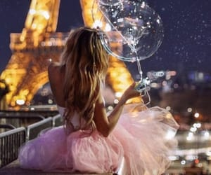 balloons, paris, and beauty image