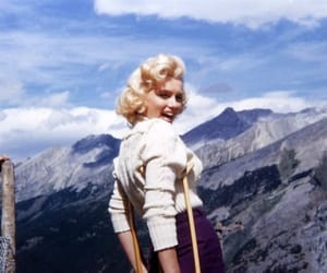 Marilyn Monroe, blonde, and photography image