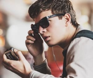 ansel elgort, baby driver, and baby image