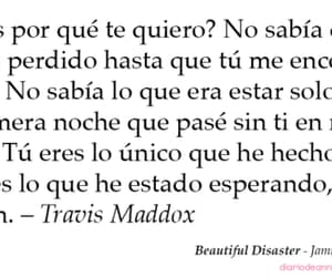 book, beautiful disaster, and travis maddox image