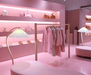 pink, clothes, and shop image