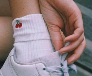 cherry, shoes, and aesthetic image