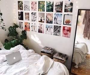 room, bed, and bedroom image