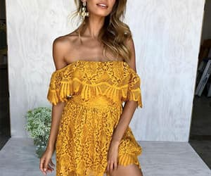 dresses, rompers, and love image