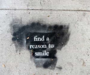quotes, smile, and reason image